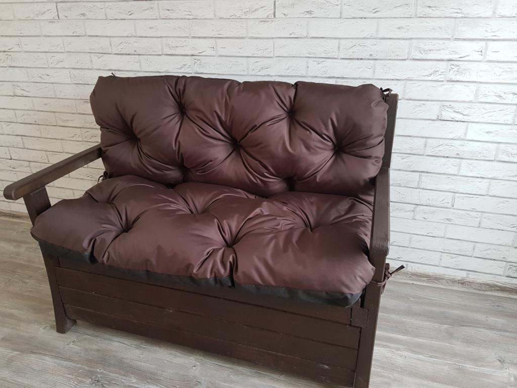 Poduszka na ławkę ogrodową 120/60/50 cm art. 500