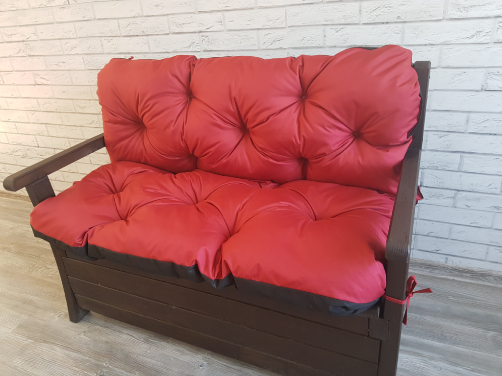 Poduszka na ławkę ogrodową 135/60/50 cm art. 500