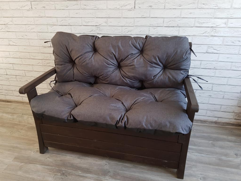 Poduszka na ławkę ogrodową 135/60/50 cm Art. 550 LEN