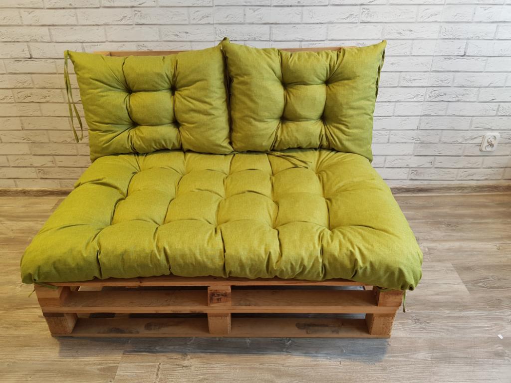 Poduszki na meble z palet ,komplet 120/80 2szt 60/40 art 550